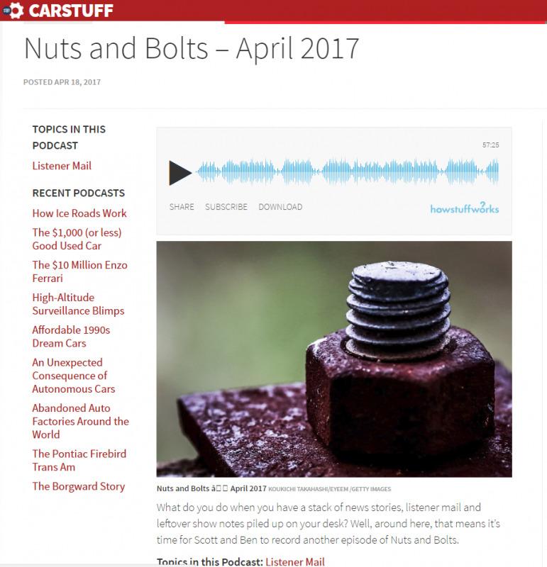 錆びたボルト写真をCarStuffにご購入頂きました!「Nuts and Bolts」という記事でご使用頂いています。EyeEm x Gettyimagesストックフォト販売履歴