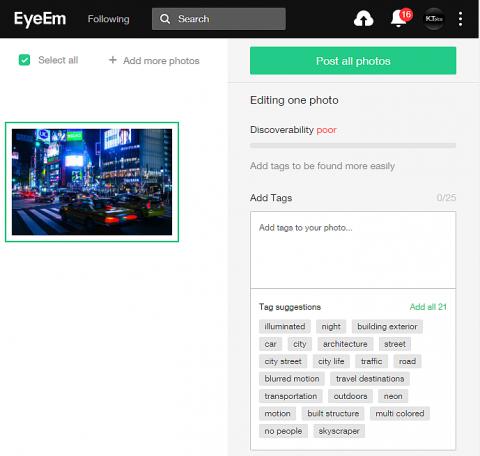 500pxが画像認識AI導入!自動キーワード(タグ)補完がすごい!この精度はEyeEm Vision並み!