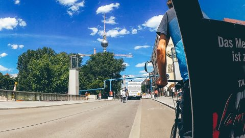 My memories of travel Berlinscapes in summer 2016