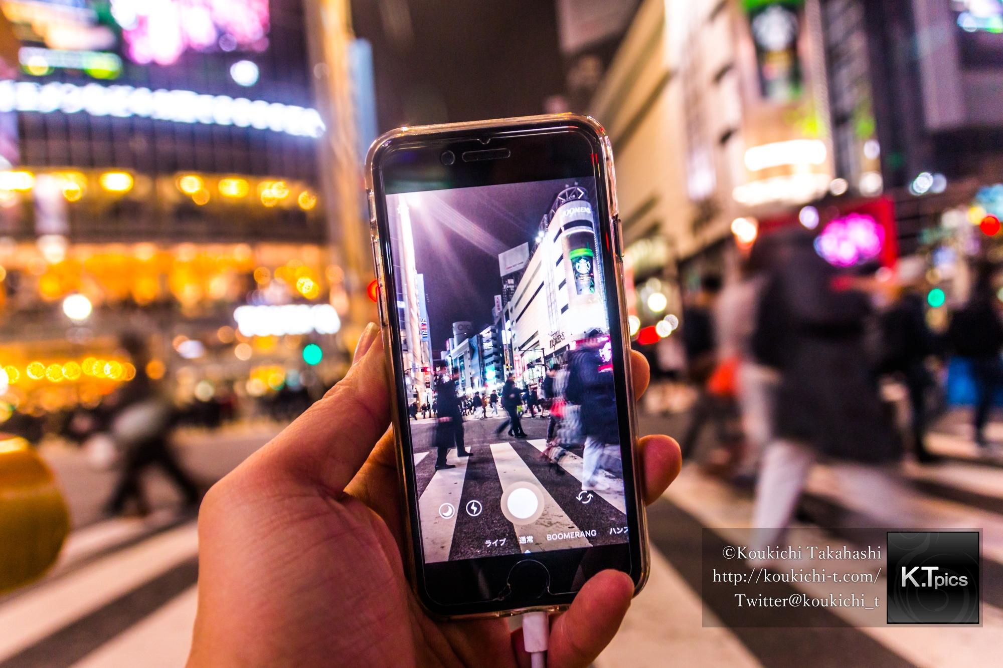 スナップマートでPOV 渋谷スクランブル交差点をスマホ撮影イメージ写真ご購入頂きました!