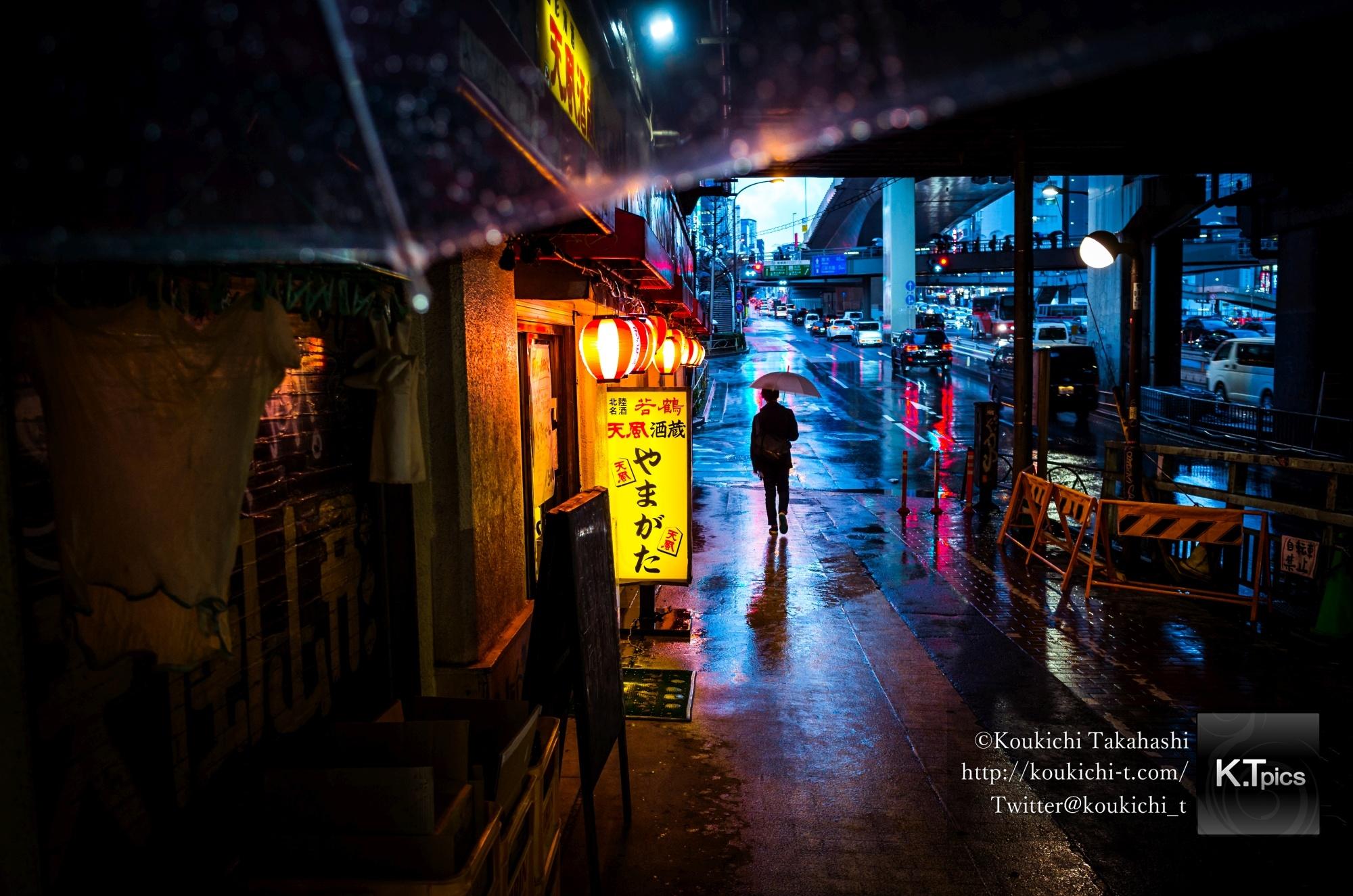 インスタアップ!雨の渋谷ガード下写真 - New post on Instagram.My Style:From My Umbrella at Shibuya