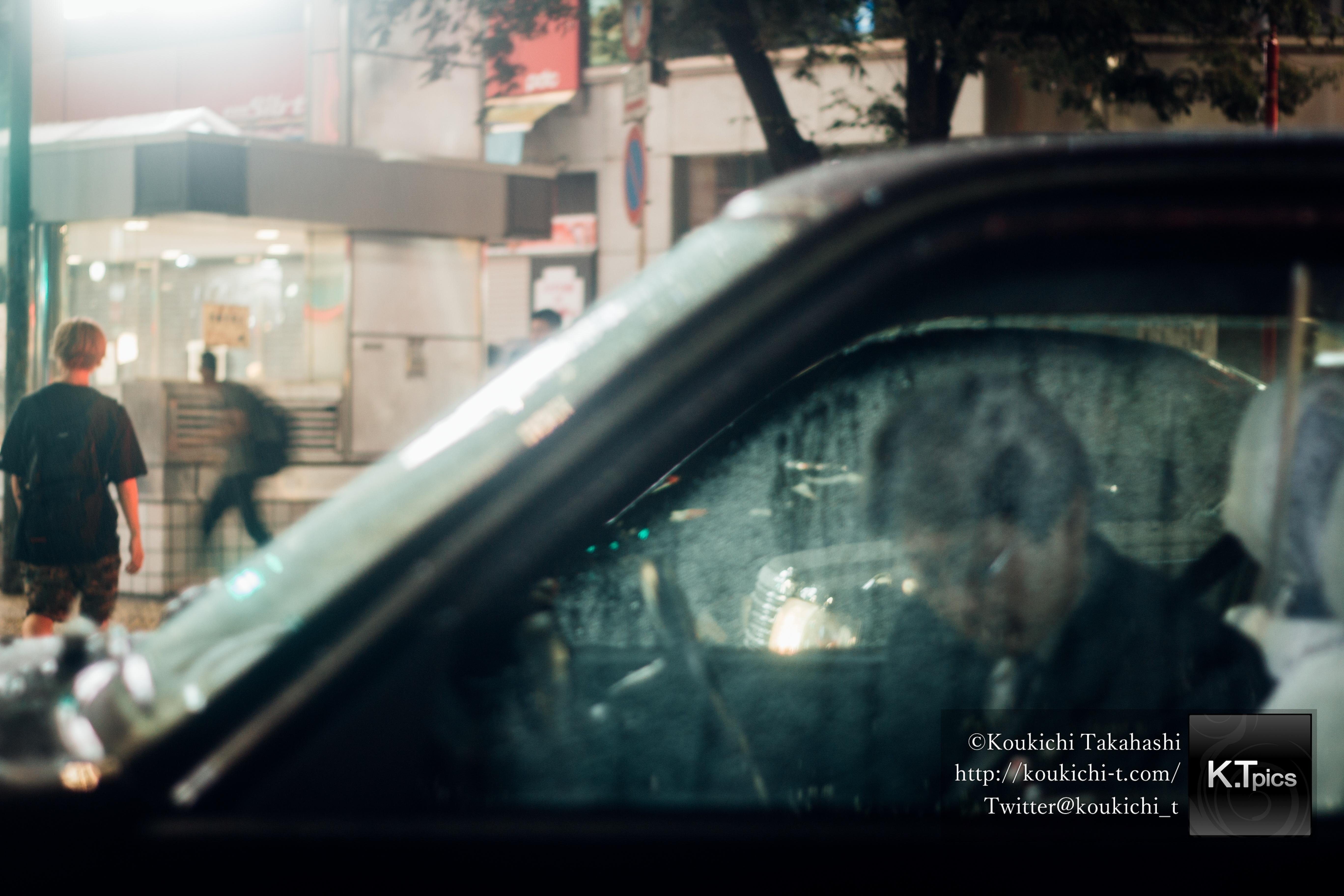 もしソール・ライターが渋谷を写真撮影したら。「ソール・ライターに魅せられて。」Inspired by Saul Leiter - Shooted by Koukichi Takahashi at Shibuya_MG_0831
