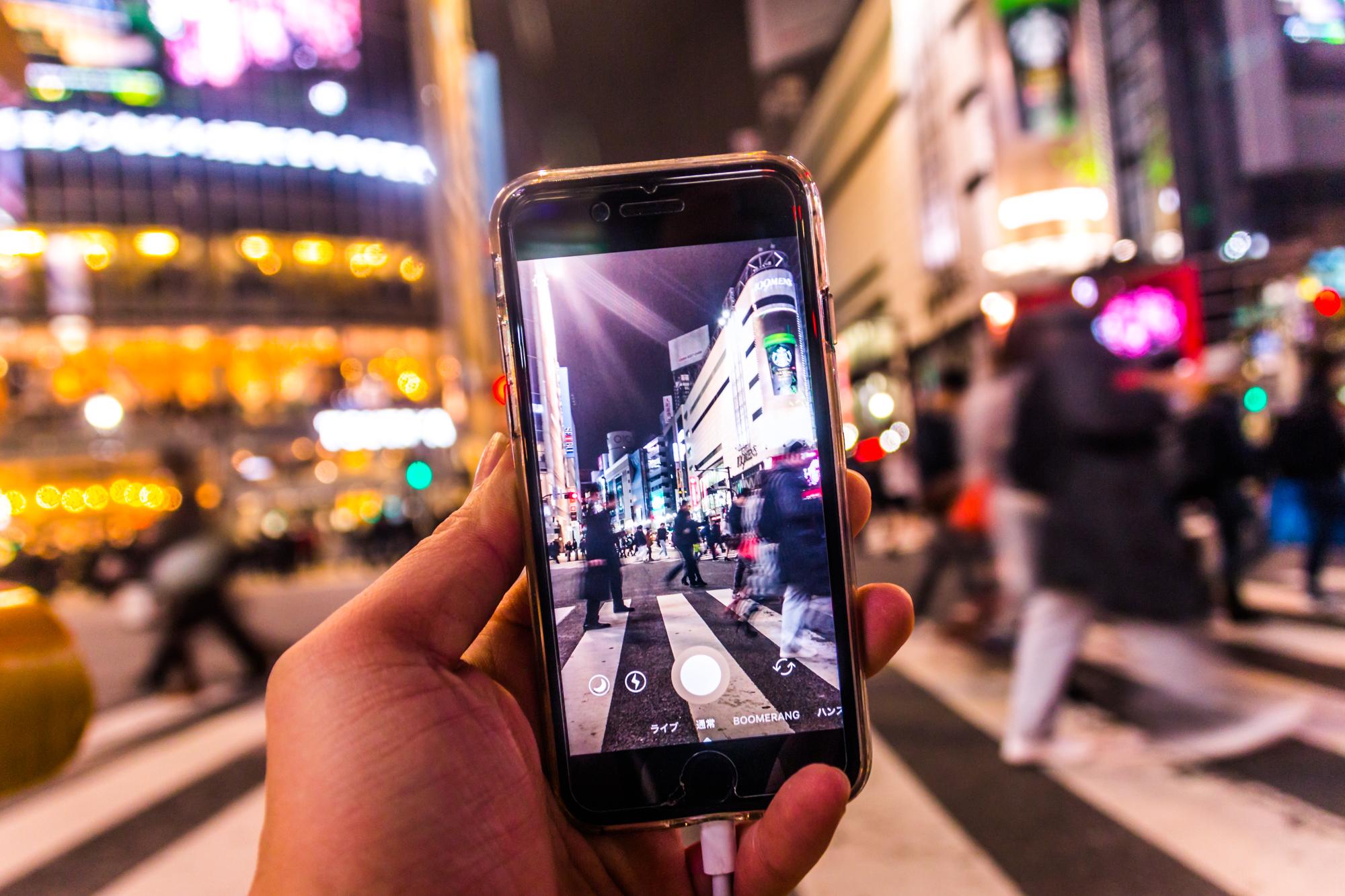 """スナップマートで「渋谷スクランブル交差点をスマホ撮影」写真が売れました! I sold """"Shot by smartphone at Shibuyacrossing""""photo on Snapmart!!"""
