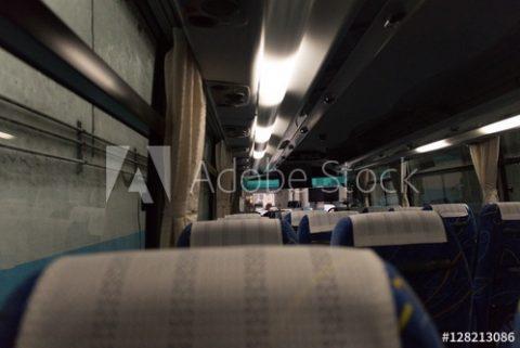 アドビストックで「バスの車内」の写真をご購入頂きました!ありがとうございます!I sold in the bus.from my pointof view photo on Adobe Stock