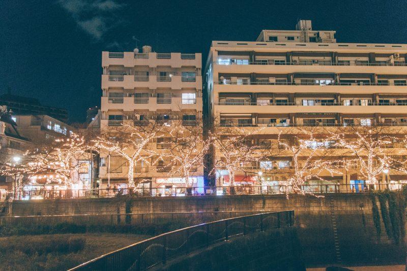 中目黒 目黒川ゴールドクリスマスイルミネーション 2016_04_2000