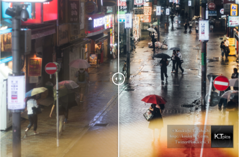 Lightroom現像ビフォーアフター。Wordpressプラグイン Twenty20を使ってみたBefore & After Lightroom Edit photo.Wordpress plug-in Twenty20