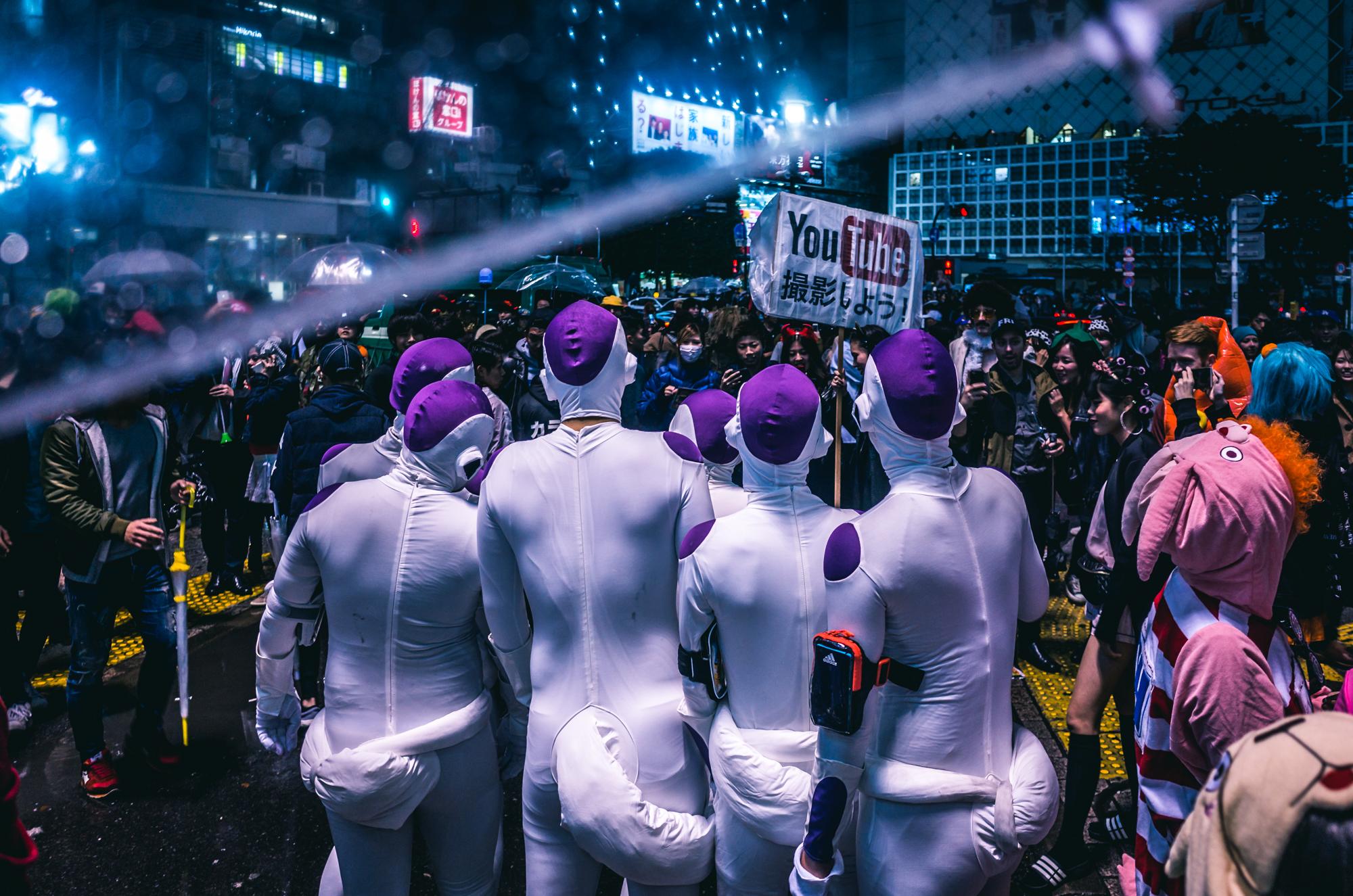 パリピ!渋谷ハロウィン2017 写真まとめ。とりあえずインスタグラム、Twitterにアップしたもの中心に!