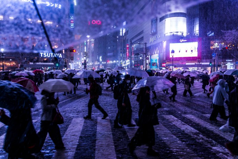 ONE EYELAND掲載!From My Umbrella 雪の渋谷スクランブル交差点が審査通過