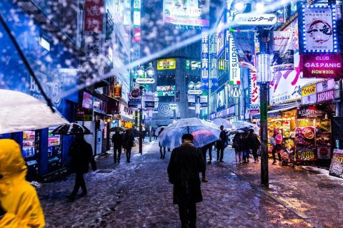 From_My _Umbrella_Snowy_Night-Shibuyascapes