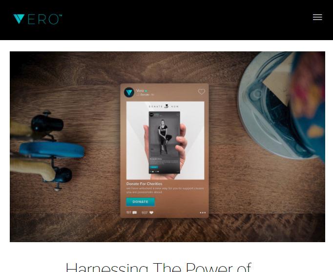 Vero(ヴェロ)新機能DONATE NOW(寄付機能)が実装。チャリティー申請も可能。海外SNS/アプリ最新情報