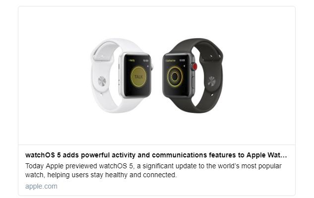 アップルウォッチ watchOS 5 強力なアクティビティとコミュニケーション機能を追加!AppleApple Watch最新情報