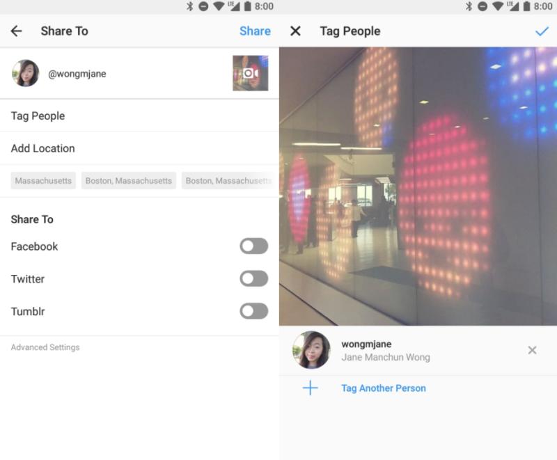インスタグラム 動画投稿にタグ付け機能をテスト中!Instagram新機能2018