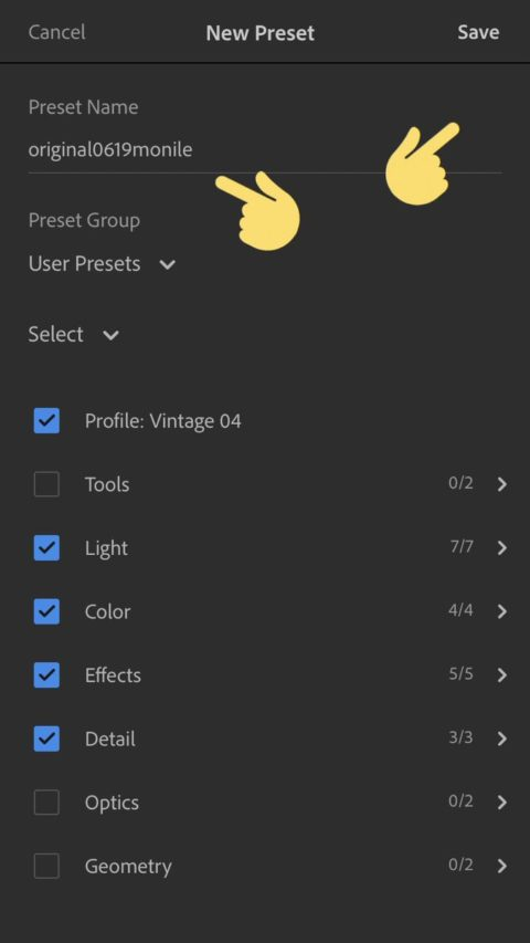 "Adobe Lightroom CC mobile launched ""Create and Save Presets""!Adobe Lightroom new feature/Latest news"