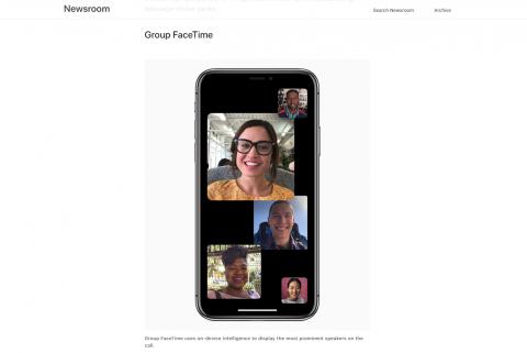 Apple FaceTime最大32人でグループ利用可能に!新機能「Group FaceTime」AppleiPhoneiOS12最新情報 2018 #WWDC18