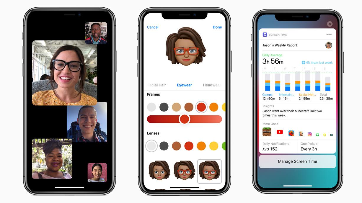 iOS12パブリックベータ版が配信開始!ミー文字ARKit 2で複数人がARシーンを共有使用時間が管理できるスクリーンタイムなど。AppleiPhoneiOS最新情報