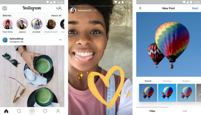 instagram lite launched in Mexico.lightweight Instagram app