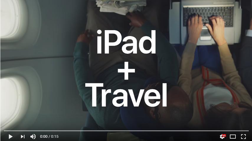 Apple 新しいiPad FaceIDのプロモーション動画4種をYoutubeで公開!アップル最新情報