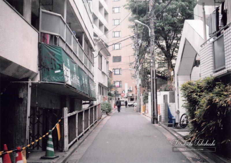 Olympus Trip35 オリンパス トリップ35作例。フィルムカメラ写真 フォトグラファー 東京都渋谷区神泉町