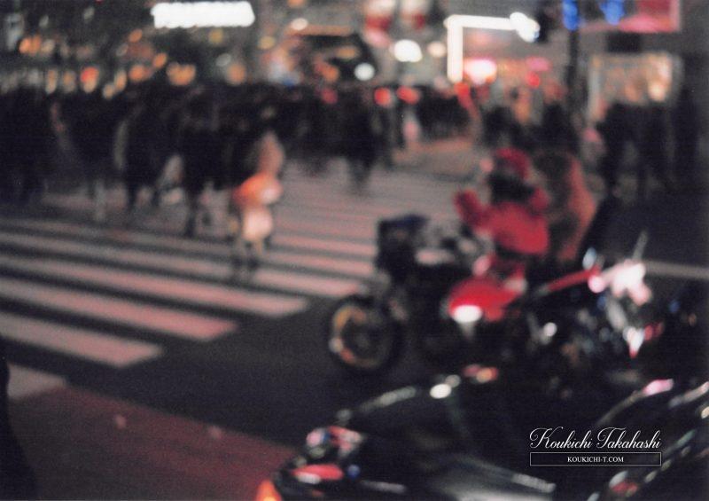 Olympus Trip35 オリンパス トリップ35作例。フィルムカメラ写真 フォトグラファー 渋谷スクランブル交差点 クリスマス