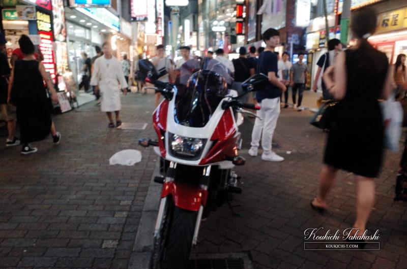 RICOH GR 作例 ポジフィルム調 エフェクト フォトグラファー バイク