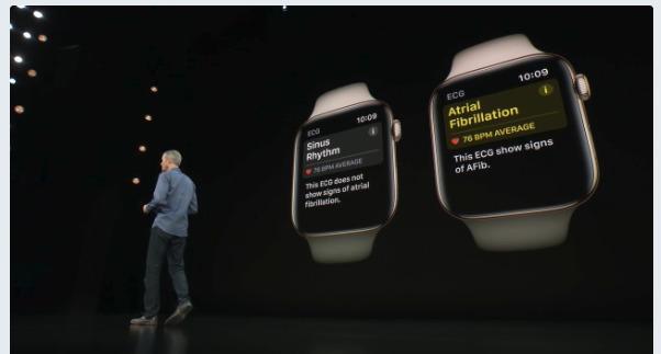 Apple Watch Series 4 発表!ECG(Electrocardiogram)アップル新製品発表会/Apple新製品情報