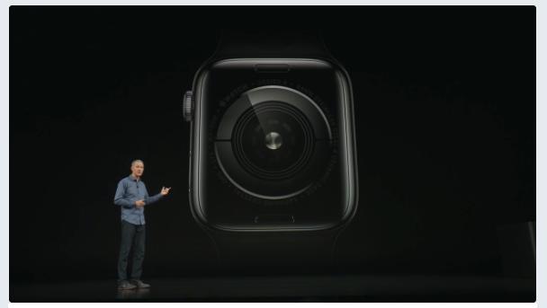 Apple Watch series 4 アップル新製品発表。アップルウォッチ画像 (3)