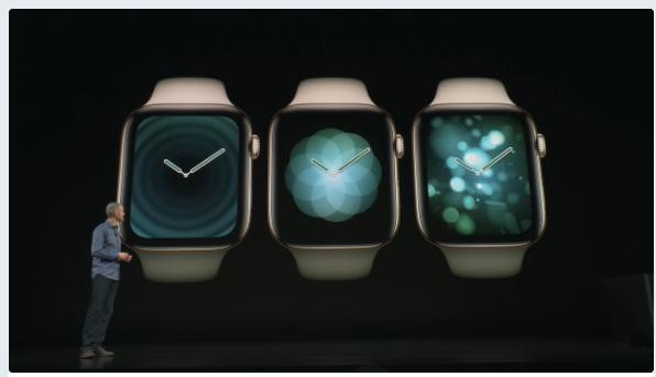 Apple Watch series 4 アップル新製品発表。アップルウォッチ画像