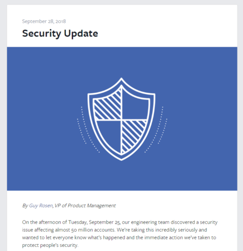 50m accounts attacked on Facebook!Facebook/Social media/Security related latest news 2018