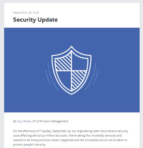 Facebookサイバー攻撃を受け約9000万人のアカウントを強制ログアウト。勝手にログアウトしてしてたら個人情報流出対象アカウントかも。Facebook最新情報/セキュリティ関連最新ニュース速報 2018