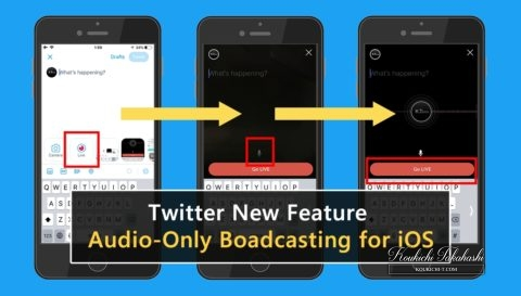 Twitter is rolling out audio-only broadcasting for iOS now!Twitter new feature/updates/changes breaking news 2018