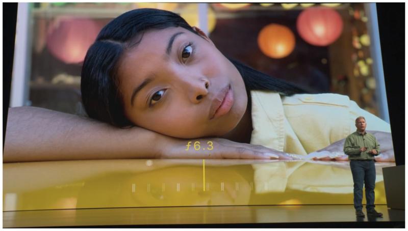 iPhone Xs(アイフォン テンエス)12メガピクセルレンズRGBカメラ撮影後にボケ味f値変更可能?!iPhone Xs Max(アイフォンテンエスマックス)発売決定!Apple Event最新ニュース速報