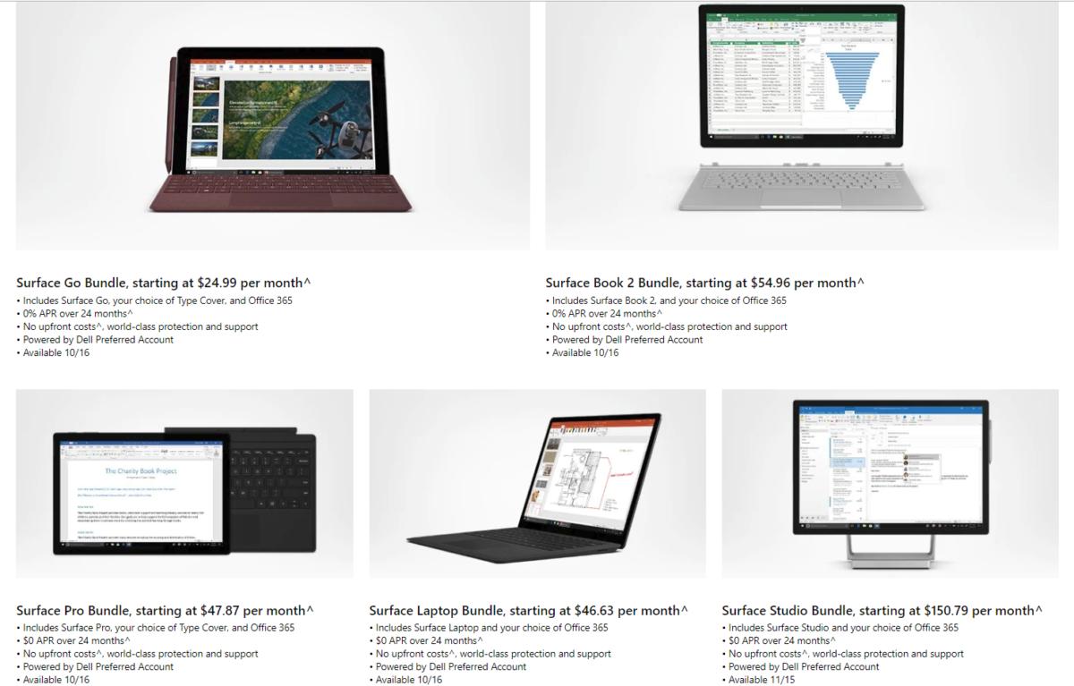 マイクロソフト Surface購入プラン「All Access Access」発表!Office 365とSurfaceセットで月額支払い。MicrosoftSurface最新情報2018 (2)