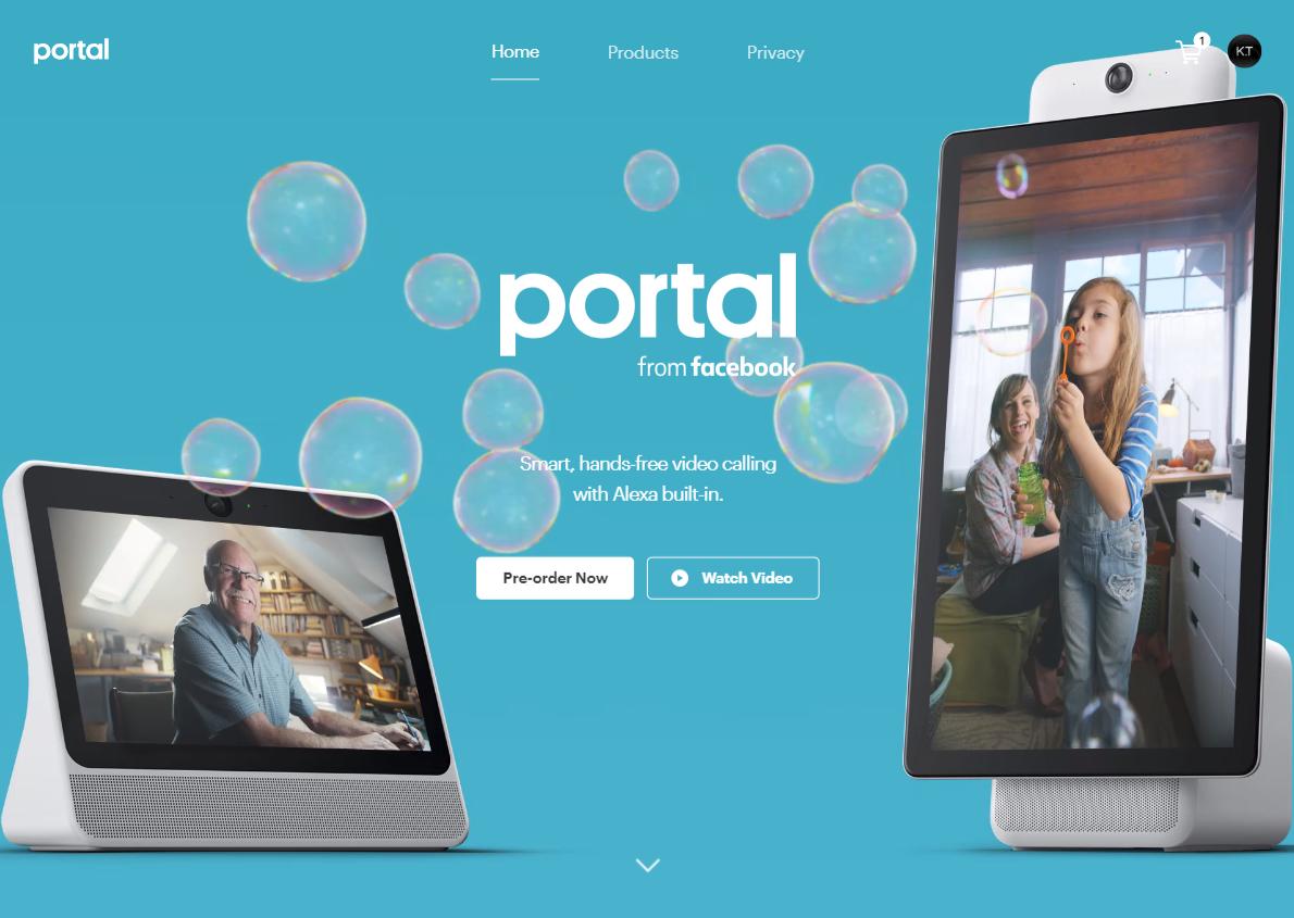 Facebook Alexa搭載のビデオチャットデバイス「Portal/Portal+」を予約開始!Portal専用Twitterアカウントも始動!Faceboo最新ニュース速報2018