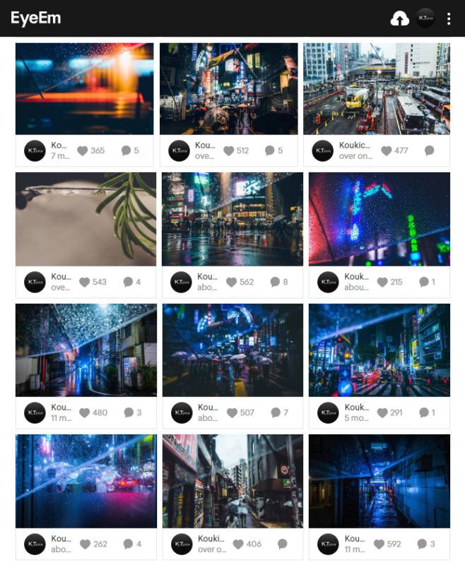 アマナイメージズでEyeEmフォトグラファーの写真販売が開始!EyeEm特集:Editors' Choice「Absolute Idea」で2枚フィーチャーして頂きました!ストックフォト最新情報2018