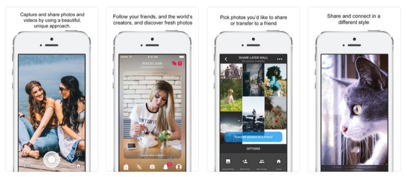 海外写真SNS「Dayflash」にリツイート/リポスト機能が実装! + 拡散可能な写真アプリ「YouPic」ざっくり紹介。海外写真SNS・アプリ最新情報2018