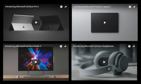 Surface Pro 6Surface Laptop 2Surface Studio 2登場!動画有!本日開催のMicrosoft Surface Eventで情報公開!MicrosoftSurface最新ニュース速報2018