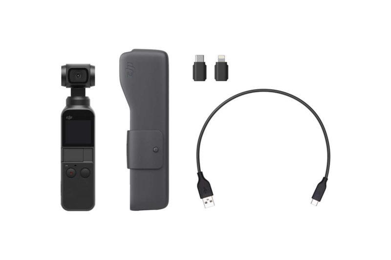 dji新製品osmo pocket予約開始 3軸ジンバルスタビライザー搭載4k60fps
