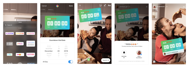"""Instagram launches new sticker """"Countdown"""" for stories!you can set timer your favorite day and time!Instagram story new stickers/new features latest news 2018-2019"""