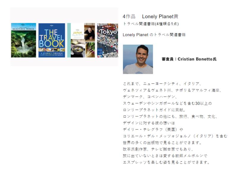 Tokyo Tokyo AwardsフォトコンでLonely Planet賞受賞。Thanks Cristian!!