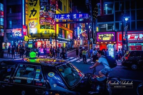 "My ""Night of Dogenzaka in Shibuya"" photo was selected as one of winner for ""Lonely Pranet Award"" on ""Tokyo Tokyo Awards""!Record of the photo competition-winning/Results 2018"
