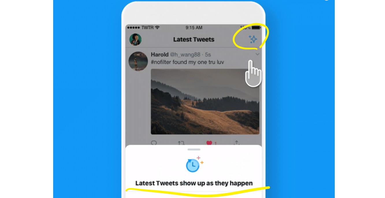 Twitter「タイムライン新着順表示」切り替え機能実装開始!ツイッター新機能アップデート最新ニュース速報2018‐2019