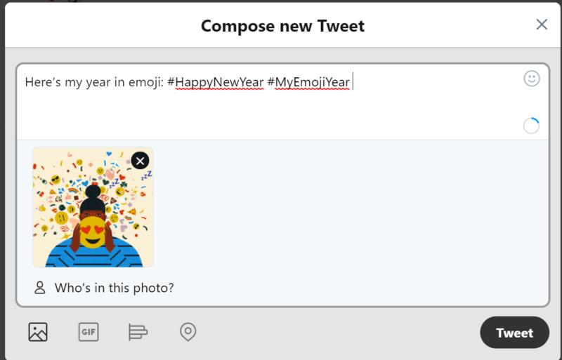 Twitter通知「絵文字だけを使って1年をしめくくってみましょう。」と #絵文字で表す1年 大晦日?元旦?限定「あけおめ」いいねアニメーションも登場?ツイッター新機能/アップデート最新情報2018-2019