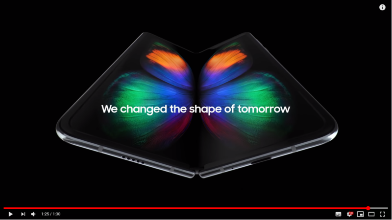 Galaxy Foldスペック確定!12GB RAM512GB1980ドル4月26日発売。Samsungサムスン新作おりたたみスマホ最新ニュース速報2019