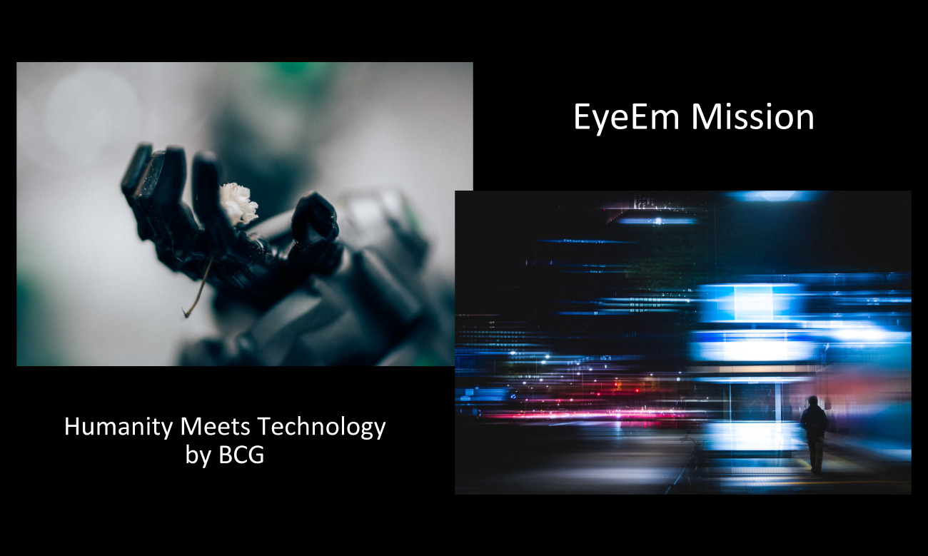 My 2 photos were selected for EyeEm Mission Humanity Meets Technology by BCG on EyeEm