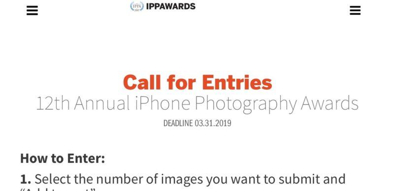 IPPAWARDS 2019エントリー受付開始!iPhone/iPadで撮影して写真のフォトコン。写真コンテスト最新情報2019