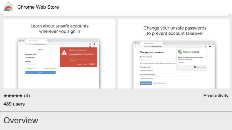 グーグル「流出パスワード入力で警告」Chrome拡張機能「Password Checkup」公開!余談:ピンタレスト警告、パス管理ツール、マカフィーTwitter乗っ取られるの巻。Google新機能最新情報2019