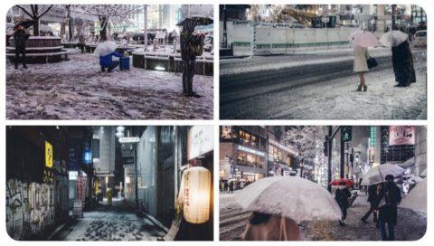 あの雪の渋谷と色の再定義。写真撮影作品テーマ「Color Redefinig」