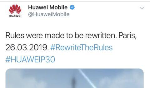 ファーウェイ P30を3月26日発表 次は望遠ズーム機能搭載?!HUAWEI P30/スマホ最新情報2019