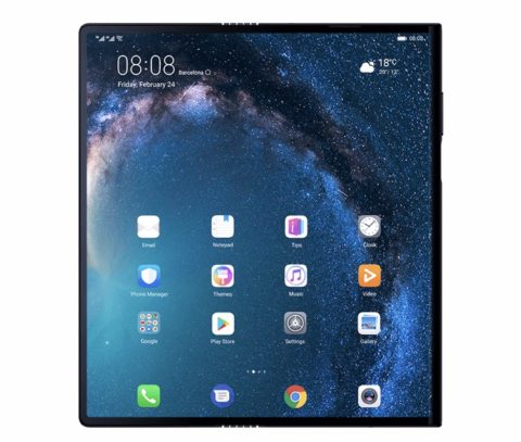"""HUAWEI's 5G / foldable """"Mate X"""" costs 00.Huawei new products/smart phone latest news 2019"""