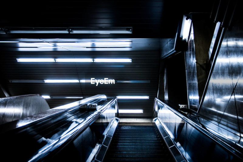 My photos are exhibited in SXSW 2019 as one of winner of EyeEm Mission Humanity Meets Technology by BCG - futuristic escalator